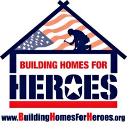 Building Homes for Heroes Logo and link to website