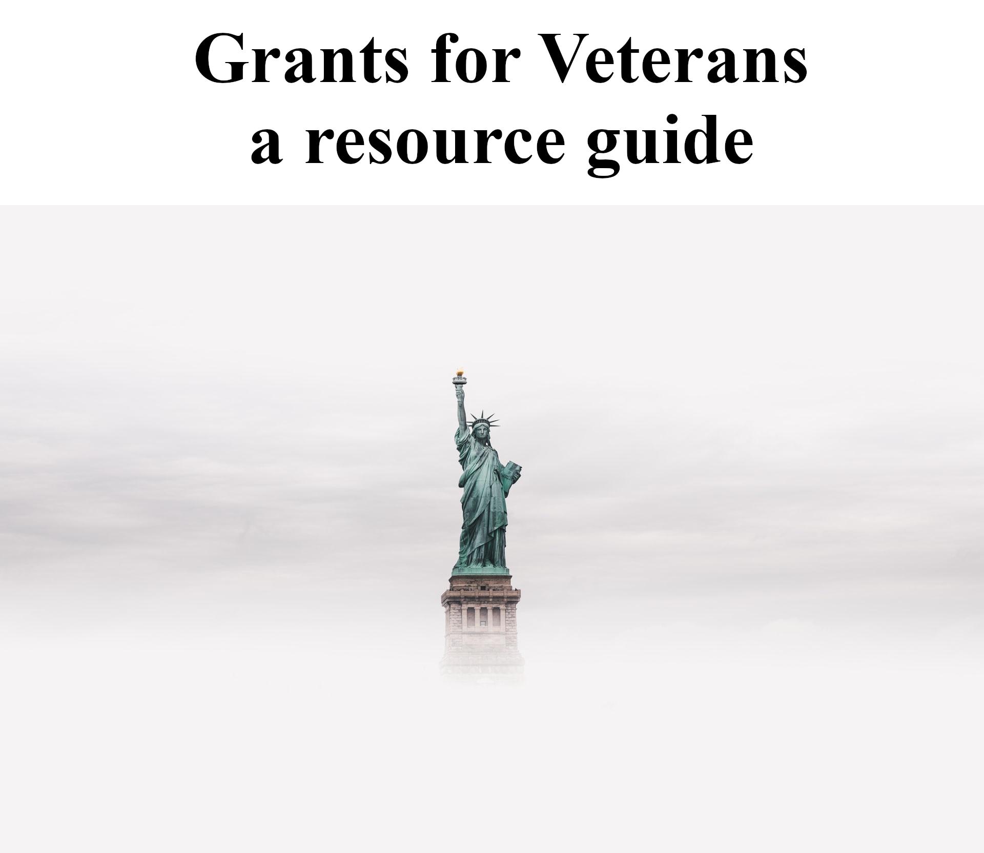 Remove term: grants for veterans grants for veterans