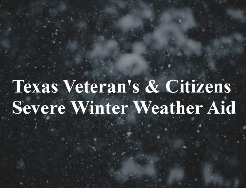 Texas Veteran's & Citizens Severe Winter Weather Aid – VetsWhatsNext